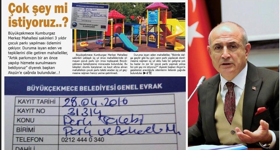 Başkan Akgün, Duymasın..!