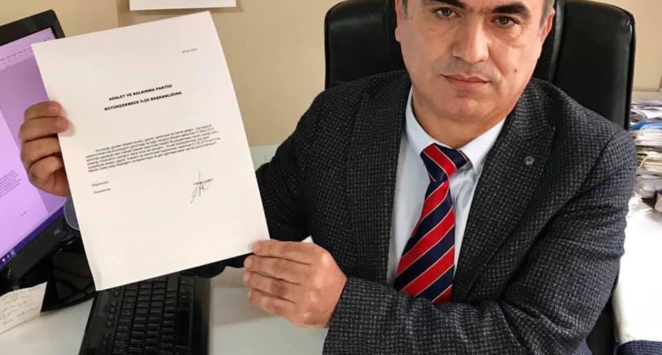 Uysal'a Tepki Gösterdi ve Meclis Üyeliği A. Adaylığı Dosyasını Geri Çekti…!