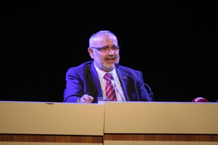 Esenyurt Belediyesi'nin düzenlediği konferansta konuşan eski Milletvekili Şevki Yılmaz: Bütün oyunlar Anadolu'da oynanıyor