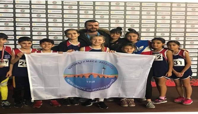 Büyükçekmece Belediyesi Spor Akademisi bir başarıya daha imza attı