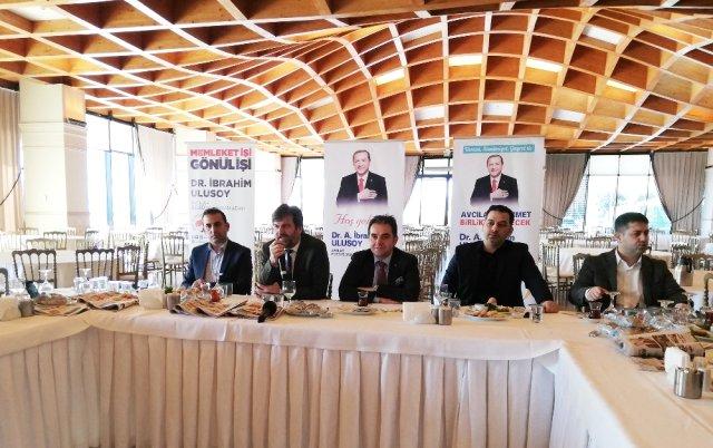 AK Parti Avcılar Belediye Başkan adayı Ulusoy, Avcılar Marka kent olacak