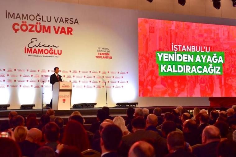 Ekrem İmamoğlu, İstanbul için çözüm projelerini açıkladı…