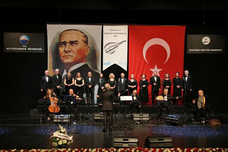 Türk Sanat Müziği nağmeleri Büyükçekmece'de yankılandı…