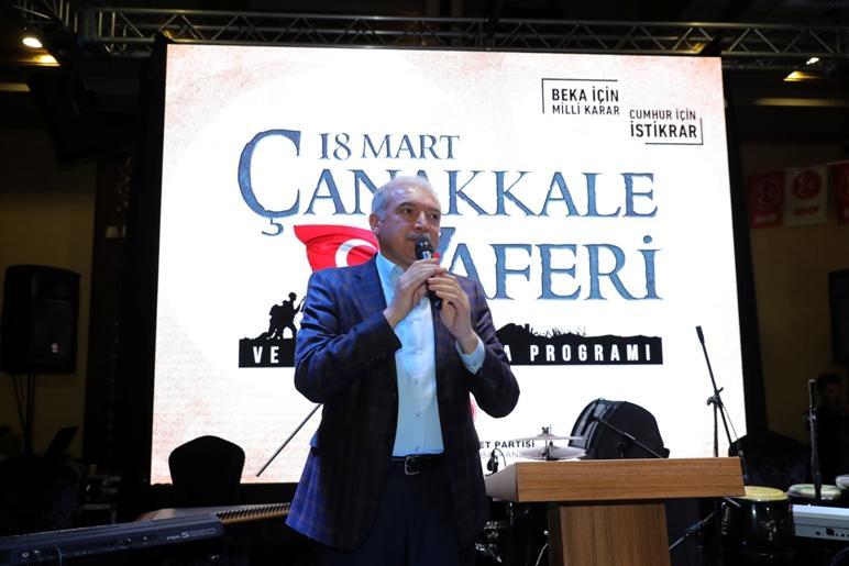 """UYSAL: """"ÇANAKKALE RUHUNU KAYBETMEDİK"""""""