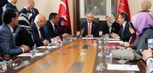 Şehit aileleri, CHP lideri Kemal Kılıçdaroğlu'nu ziyaret etti