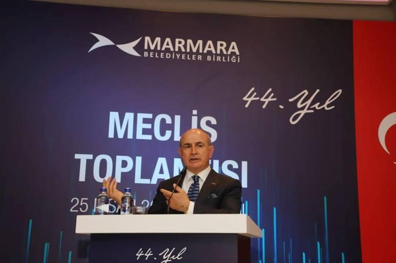 Başkan Akgün Marmara Belediyeler Birliği yönetimine seçildi