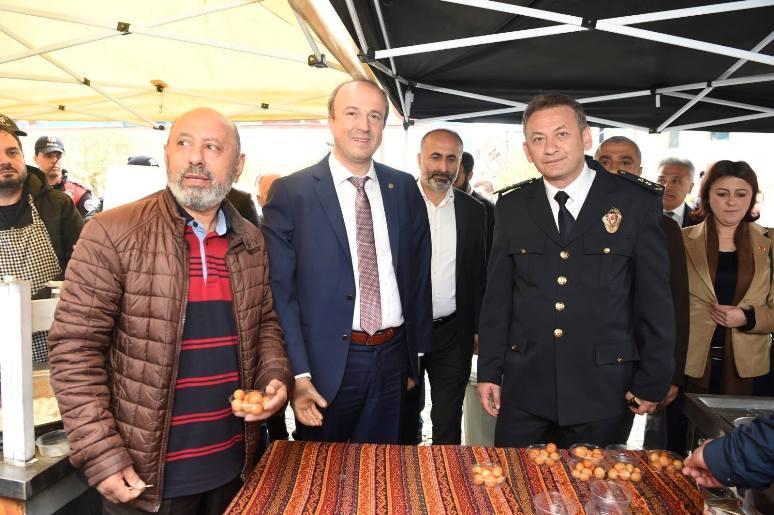 Avcılar'da Şehit Polisler İçin Lokma Dağıtıldı….