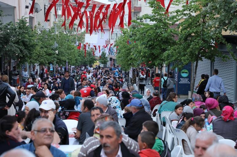 Binlerce Tepecikli iftar sofrasında buluştu