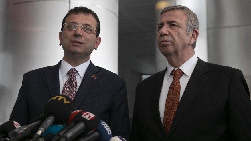 Ekrem İmamoğlu ve Mansur Yavaş'a yetki kısıtlaması