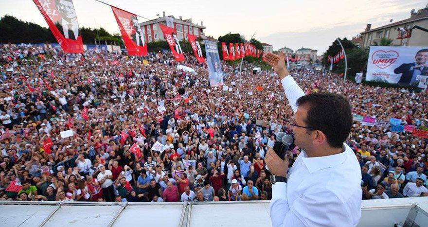 """İmamoğlu Büyükçekmece'de : """"Türkiye'nin yarısından fazlasını yöneten bizler büyük başarılar kazanacağız"""""""