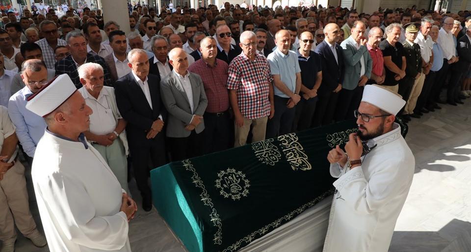 Başkan Akgün'ün acı günü