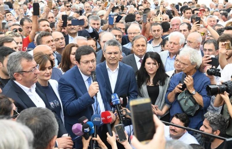 Canan Kaftancıoğlu'nu yalnız bırakmadılar CHP'den Çağlayan çıkarması…