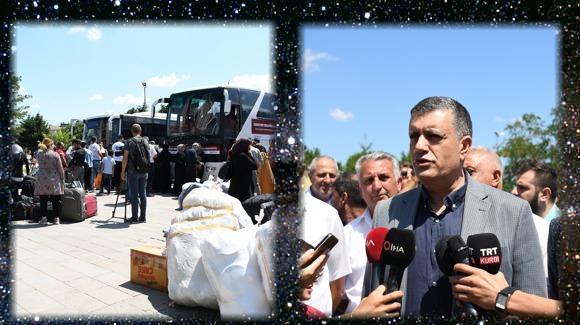 117 Suriyeli daha Esenyurt'tan ülkelerine döndü