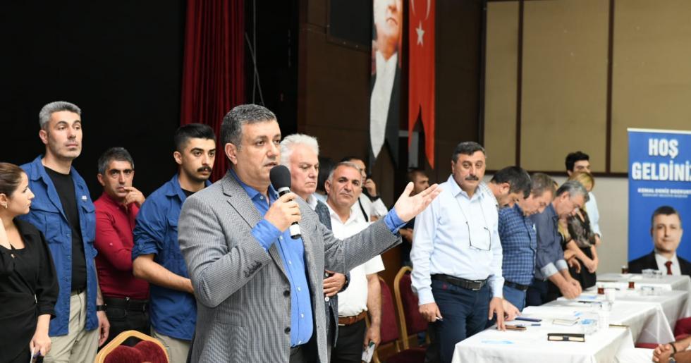"""Başkan Kemal Deniz Bozkurt ;""""Beş yıl içerisinde istihdam sorununu çözeceğiz."""""""