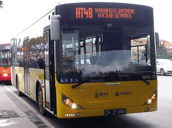 İETT, HT 48 hattında otobüs ve sefer sayılarını arttırdı