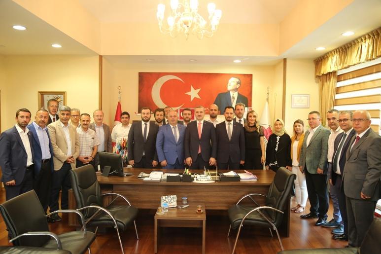 Başkan Mesut Üner'e Ak Parti İstanbul İl Başkanı Bayram Şenocak'tan Ziyaret…