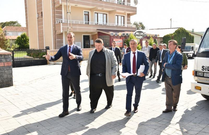BAŞKAN YILMAZ'DAN BEYCİLER MAHALLESİ'NDE İNCELEME