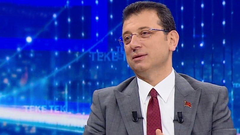İBB Başkanı İmamoğlu'ndan İstanbullulara yeni metro hattı müjdesi