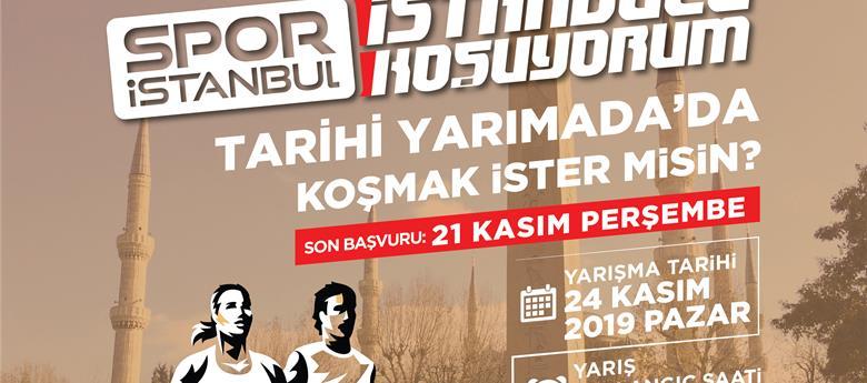 'İSTANBUL'U KOŞUYORUM' İLK KEZ TARİHİ YARIMADA'DA