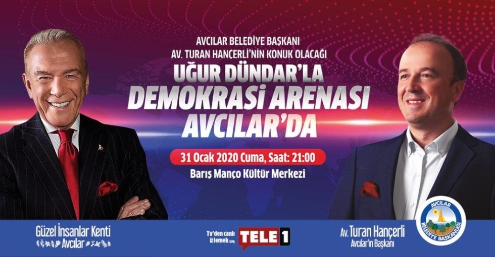 """DEMOKRASİ ARENASI"" AVCILAR'DA…"