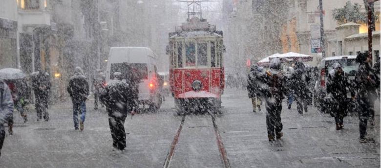 İSTANBUL'DA BEKLENEN KAR YAĞIŞI İÇİN GERİ SAYIM BAŞLADI