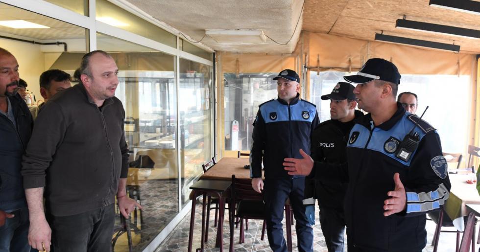 ESENYURT ZABITASI VE POLİSTEN KAHVEHANE DENETİMLERİ