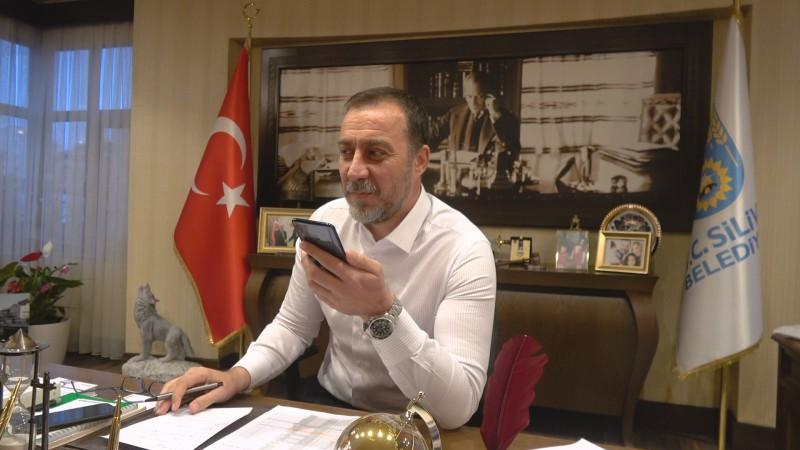 BAŞKAN YILMAZ 65 YAŞ ÜSTÜ VATANDAŞLARI TELEFONLA ARADI