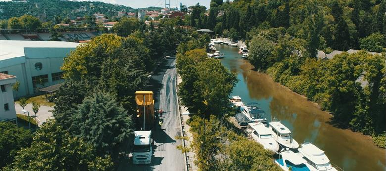 İSTANBUL'DA YOLLAR GÜVENLİ HALE GETİRİLİYOR