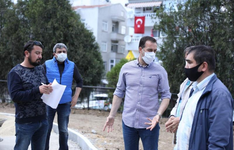 SİLİVRİ'DE KISITLAMA BOYUNCA HALKA HİZMET DURMADI