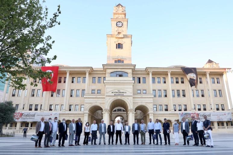 CHP'Lİ BAŞKANLAR KOORDİNASYON TOPLANTISINDA BULUŞTU