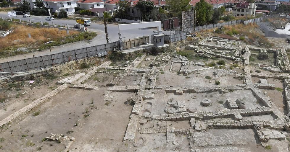 BEYLİKDÜZÜ'NDE TARİHİ BİR KANAL KALINTISI TESPİT EDİLDİ