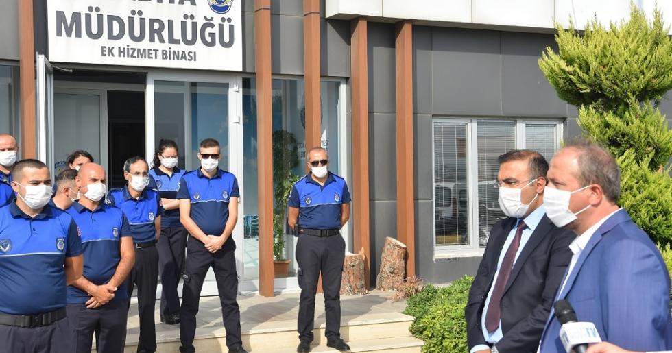 BAŞKAN HANÇERLİ'DEN ZABITA HAFTASI'NDA ANLAMLI ZİYARET