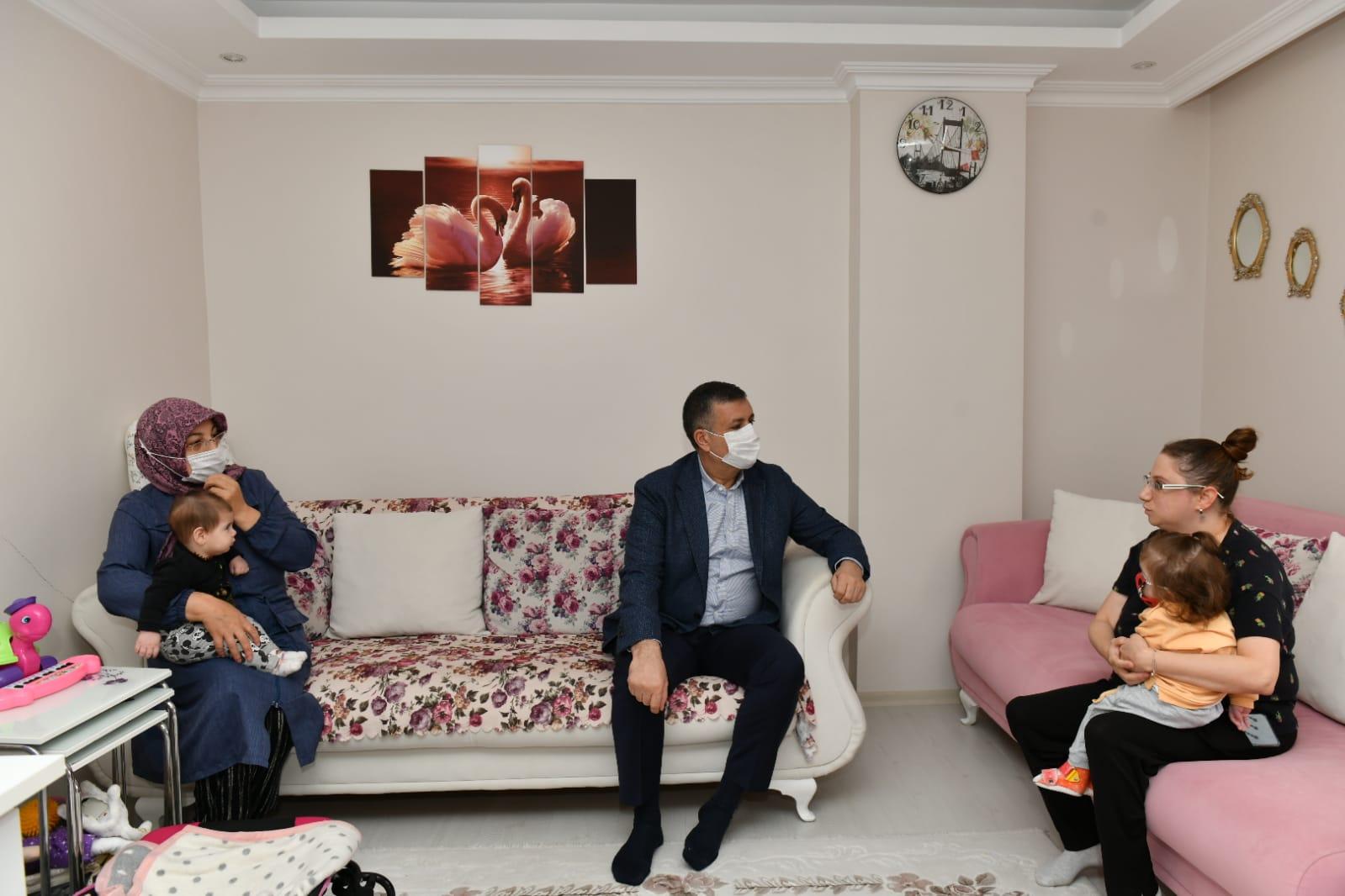 BAŞKAN BOZKURT'TAN SMA'LI EYLÜL'E DESTEK ZİYARETİ