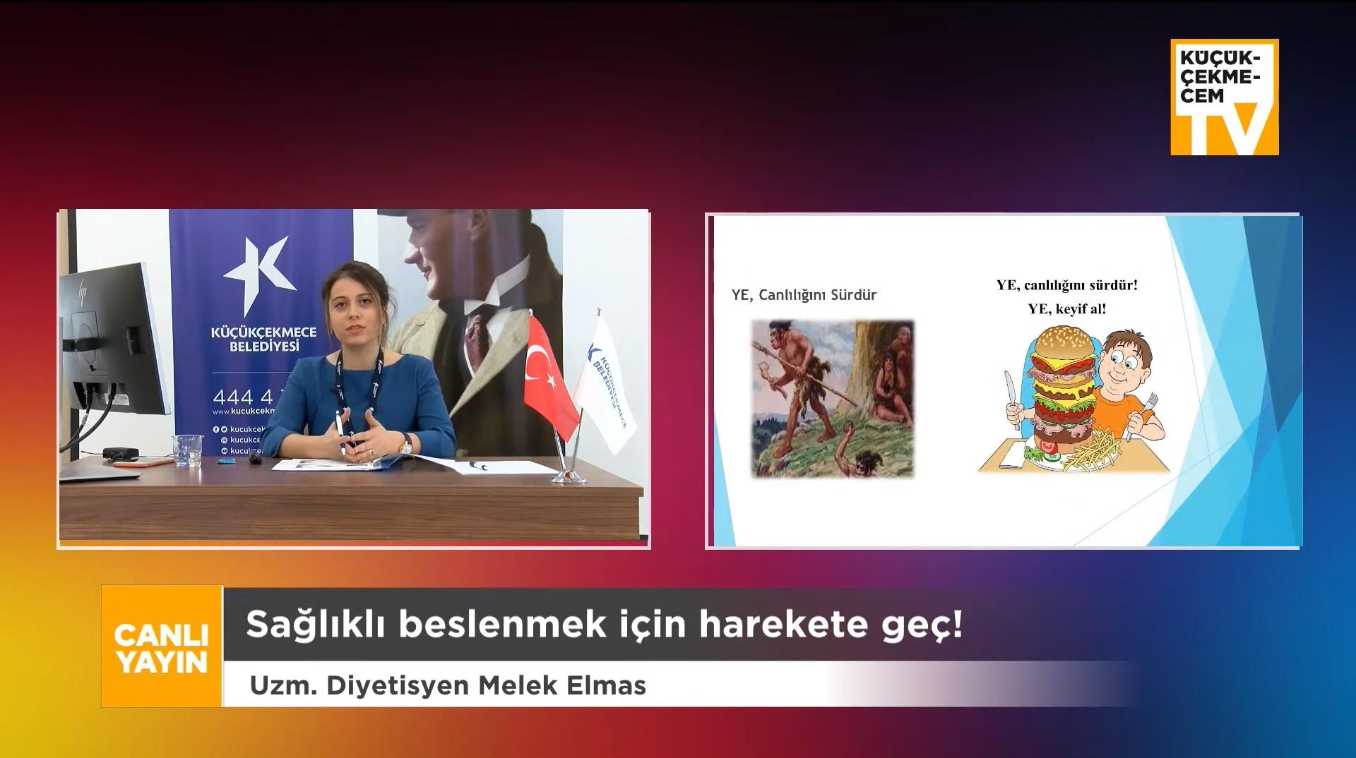 DİYETİSYEN ELMAS'TAN KİLO VERMEK İSTEYENLERE TAVSİYELER