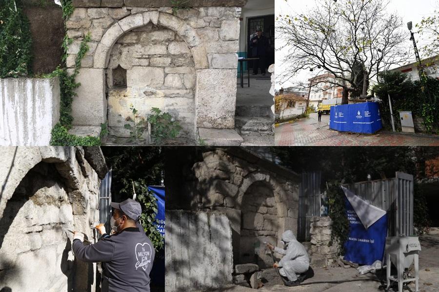 GÜRPINAR'DA RESTORASYON ÇALIŞMALARI BAŞLADI