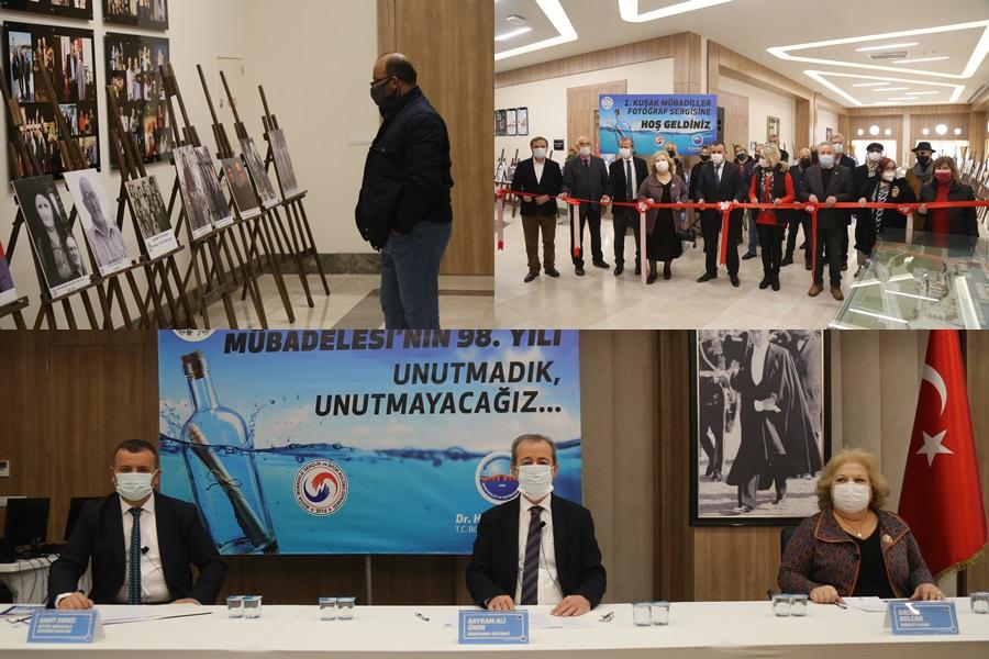 """""""1. KUŞAK MÜBADİLLER FOTOĞRAF SERGİSİ"""" VATANDAŞLARA DUYGU DOLU ANLAR YAŞATTI"""