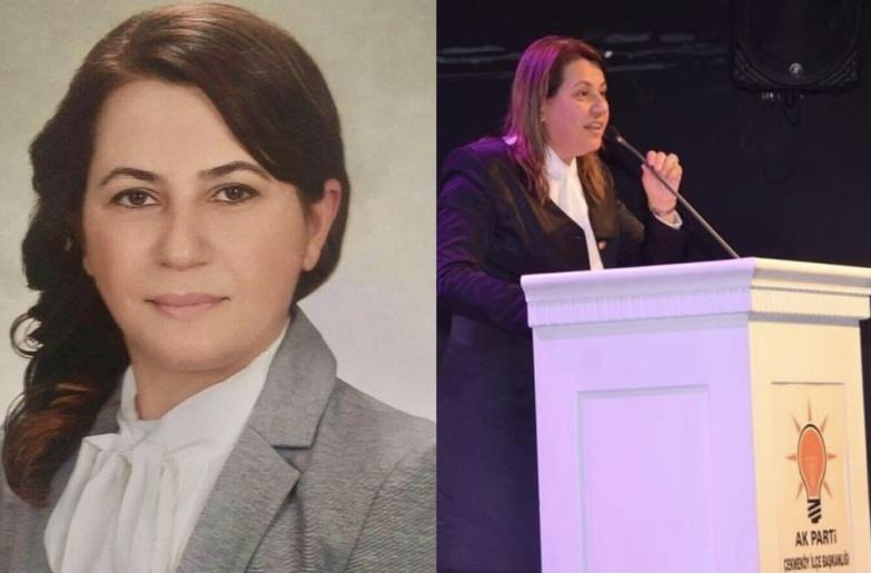 HATİCE BOZDAĞ,  AK PARTİ MKYK'DE.