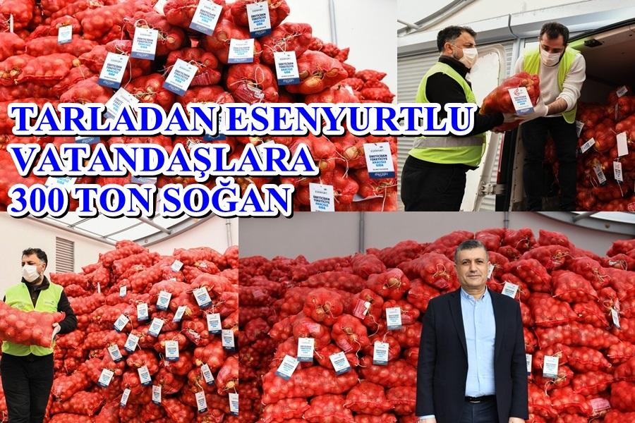 ESENYURT BELEDİYESİ TARIM ALANINDA ROL MODEL OLMAYA DEVAM EDİYOR