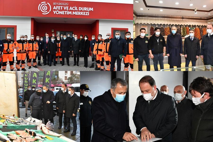 İSTANBUL VALİSİ'NDEN BEYLİKDÜZÜ'NE ZİYARET