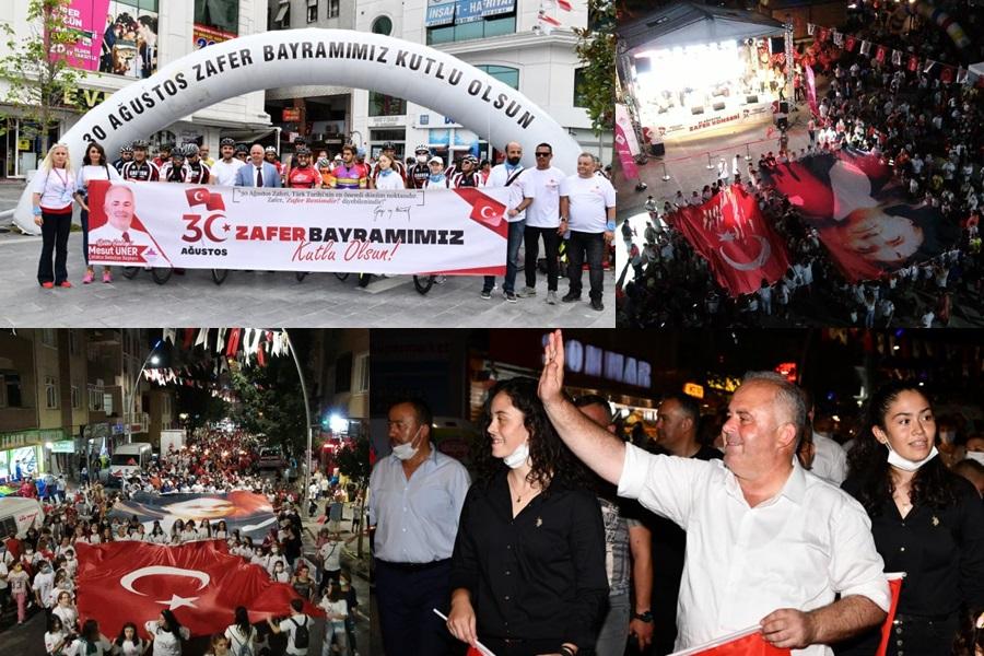 ÇATALCA'DA MUHTEŞEM ZAFER BAYRAMI COŞKUSU