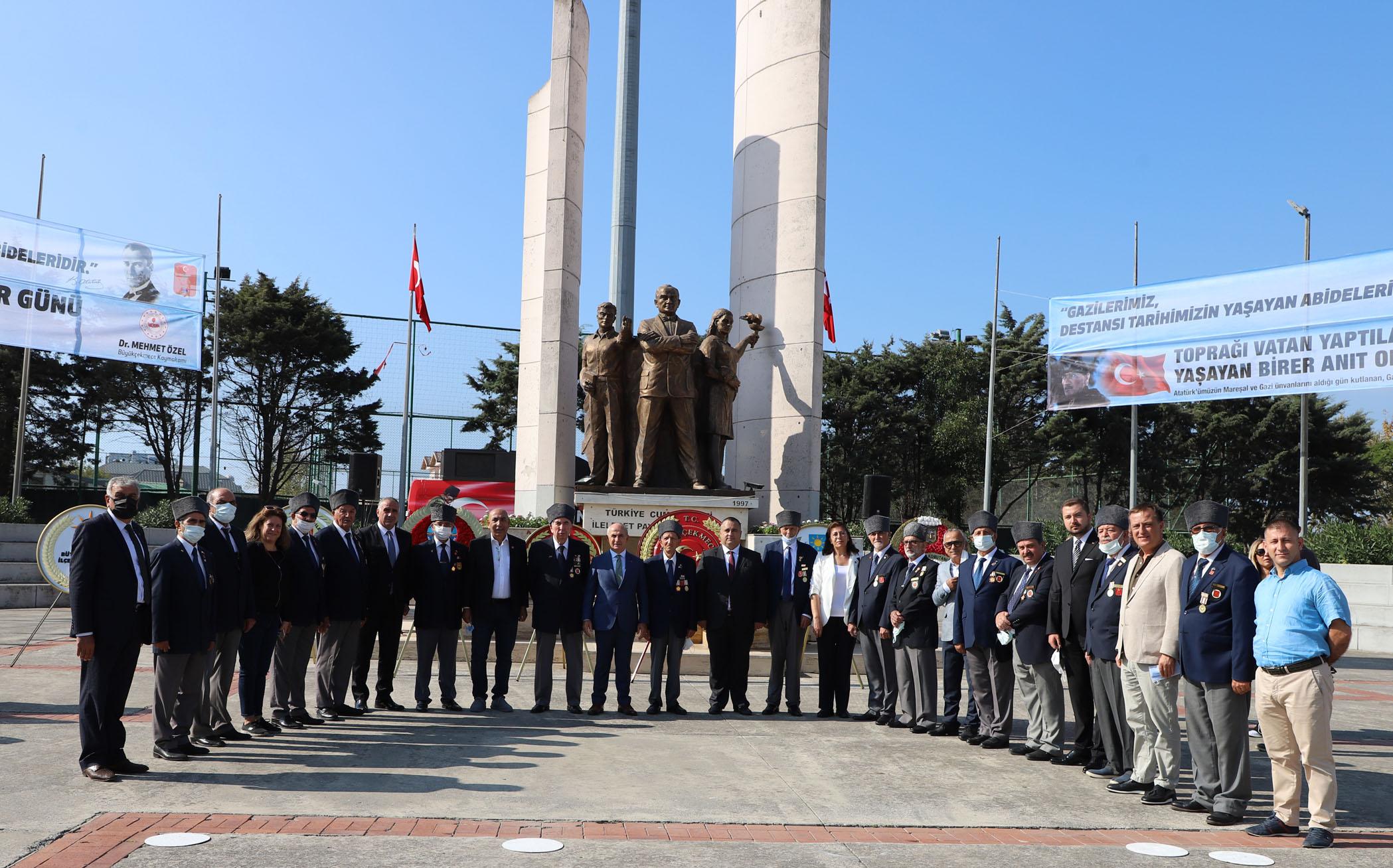 """""""GAZİLERİMİZ ŞEREF MADALYALARIMIZDIR"""""""